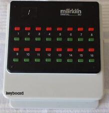 Marklin Märklin 6040 digital Motorola system: Keyboard