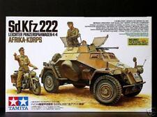 Tamiya 1/35 SD KFZ 222 Afrika Korps con DKW NZ350 # 35286