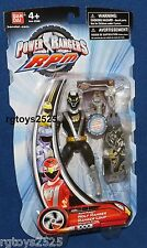 "Power Rangers RPM Rapid Pursuit Black Wolf Ranger New 5."" Factory Sealed 2009"