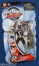 Power Rangers RPM Rapid Pursuit Black Wolf Ranger New 5.5 Inch
