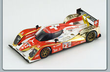 Lola B 10/60 Toyota #12, Prost 6th 2011 Le Mans Rebellion Spark S2527 Resin 1/43
