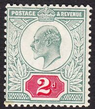 Var229 2d Dull Blue Green & Carmine Hendon Variety M12-21 Solid colour behind 2