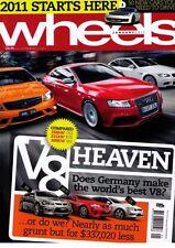 Wheels Jan 11 Megane RS 250 Jazz Hybrid Passat Lexus IS350  Redline: •Subaru Im