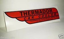 RED Thermador Car Cooler Sticker, evaporative swamp cooler decal