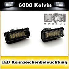 LED SMD Kennzeichenbeleuchtung Mercedes Benz S203 W211 S211 SLK R171 CLS weiss