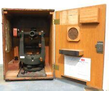 KEUFFEL & ESSER CO K&E PARAGON JIG TRANSIT 9092-1A, WITH WOODEN BOX