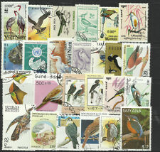 BIRDS Collection Packet 25 Different Stamps (Lot 1)