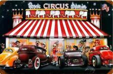Circus Drive In Vintage Metal Sign