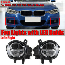 2X LED Fog Light Lamps for BMW 3 Series F20 F22 F30 F35 LCI 320i 328d 330e 16-18