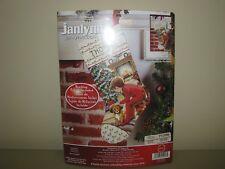 Janlynn Corp Waiting for Santa 015-0243 Janlynn Counted Cross Stitch Kit