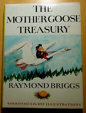 The Mother Goose Treasury by Raymond Briggs 1966 HC DJ First American Edition