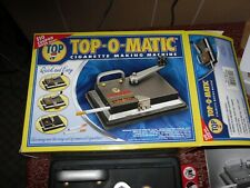 Top-O-Matic Cigarette Making Machine Used *With Box and Instruction Booklet*
