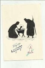 137042   cartolina auguri augurale buon natale frohliche weinhacht