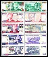 Turqia -  2x  10 - 20.000.000 Lirasi - Edición 1984 - 2002 - Reproducción - 02