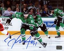 Tyler Seguin Dallas Stars Signed Autographed Home Skate Action 8x10