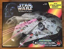 New Millennium Falcon Electronic Lights/Movie Sounds -Star Wars Potf Hasbro 1995