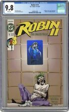 ROBIN II JOKERS WILD 1 CGC 9.8 - JOKER Robin 2 ii ll Batman Joker's 1991 Wagner