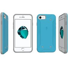Poetic QuarterBack Corner/Bumper Protective Case Cover for Apple iPhone 7 Blue