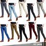 Mens Chino Trousers Stallion Slim Fit Cotton Jeans Pants Designer Khakis New all