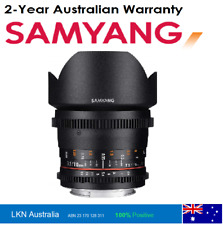 Samyang 12 mm T3.1 VDSLR UMC II Video Lens - Full Frame