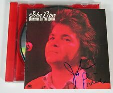 "John Prine Signiert Autogramm "" Diamonds IN The Rough CD"