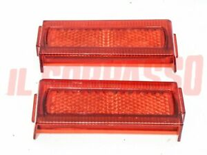 Plastic Lights Rear Red Fiat 124 Coupe 1 Series Lamborghini Espada