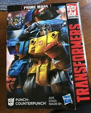 Punch Counterpunch Transformers Power Of The Primes POTP Amazon Exclusive MISB!