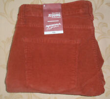 NWT 9 ARIZONA Super Skinny STRETCH CORDUROY LEGGING PANTS JEANS ~ BRICK RED $56