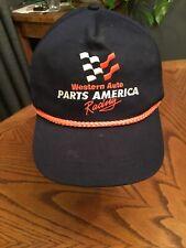 Vintage Western Auto Parts America Racing Darrell Waltrip Nascar Hat Cap vtg