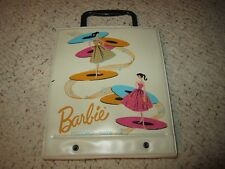 1961 Vinyl Barbie Record Tote Very Nice!!!!