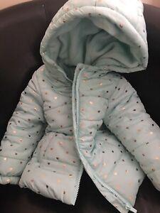 Baby Toddler Girls Winter Jacket Coat 12-18 Months