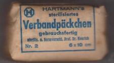 whermacht II Guerra pacchetto medicazione datato 1943