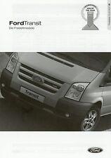 Lista de precios Ford Transit recreativas modelos 1.1.07 2007 precios EUROLINE Pepita Price