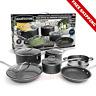 Non Stick Cookware Set Pans Skillet Pots Home Kitchen 10 Piece Professional