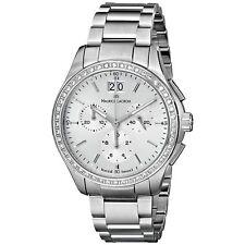 Maurice Lacroix MI1057-SD502-130 Women's Miros Silver-Tone Quartz Watch