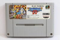 The Great Battle IV 4 SFC Nintendo Super Famicom SNES Japan Import I5767