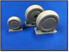 True Details 1/72 Consolidated B-24 Liberator Wheel Set w/ Dust Covers # P72217