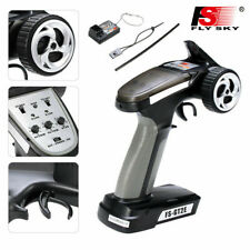 Flysky 2A 2.4G 2CH Radio System Transmitter for RC Car Boat with Receiver U3D6