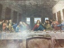 The Last Supper Leonardo Da Vinci Print Vintage 24463