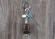 Best Wishes Acrylic Amitabha Buddha Keychain/Key Ring/FREE P&P