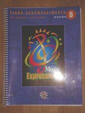 Music Expressions Piano Accompaniment Grade 5 (A-3)