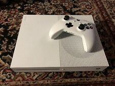 Microsoft Xbox One S 500GB White Console With Controller And Cords