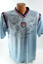 1999 US Woman's World Cup Championship Team Signed Jersey 15 Signatures