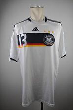 2008 Deutschland Trikot #13 Ballck Gr. XL Adidas DFB Home Germany EM Capitano