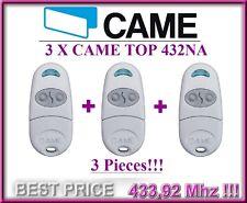 3 X Came TOP432NA, 2-canali radiocomando telecomando 433,92MHz, 3 pezzi!!!