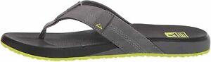 Reef Cushion Phantom Black / Lime Men's Flip Flop Sandals CI4008
