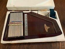 Vtg CAROLER By Rhythm Band Inc Chromaharp Autoharp 43 Strings 28 Chords Japan