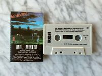 Mr. Mister Welcome To The Real World CASSETTE Tape 1985 RCA AFK1-7180 RARE! OOP!