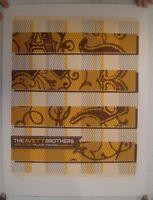 Avett Brothers Poster Silkscreen Palace Theater Albany NY April 22 2012 Mint The