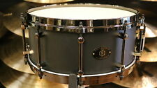 Noble & Cooley Alloy Classic Snare Drum, 6x14 Black Finish with Black Die-cast H